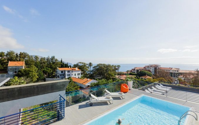Uitzicht vanaf Hotel Terrace Mar Suite op Madeira