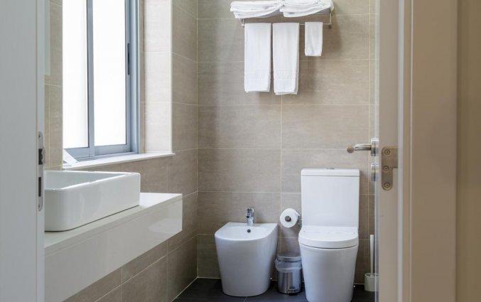 Badkamer in kamer van hotel Domus in Porto