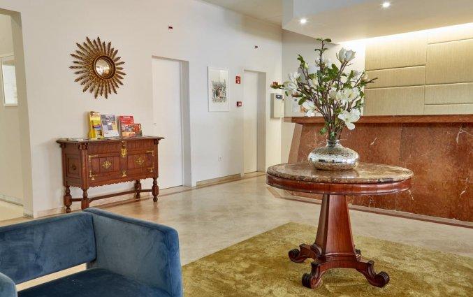 Entree van hotel Domus in Porto