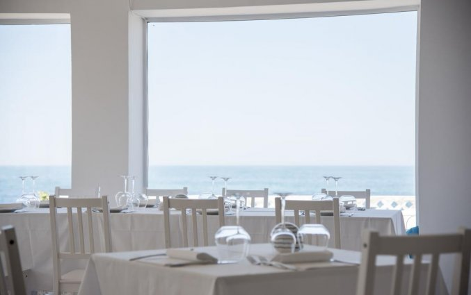 Restaurant van Hotel Riva Del Sole in Puglia