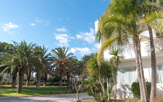 Buitenaanzicht van Hotel Riva Del Sole in Puglia