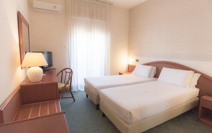 Tweepersoonskamer van Hotel Riva Del Sole in Puglia
