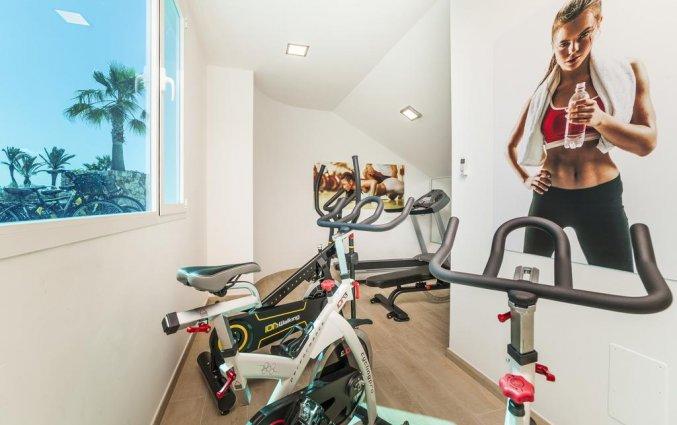 Fitnessruimte van Hotel Globales Mediterrani op Menorca