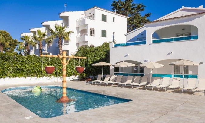 Kinderzwembad van Hotel Globales Mediterrani op Menorca