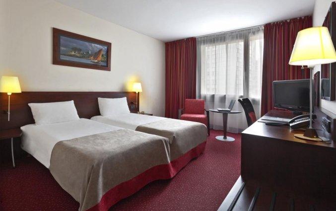 Tweepersoonskamer van Hotel Golden Tulip Warsaw Centre