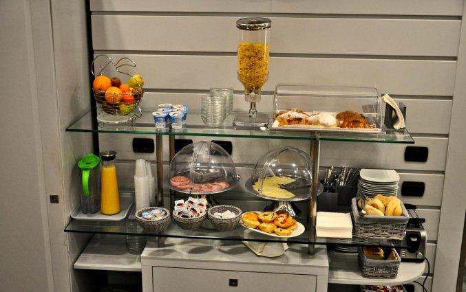 Ontbijt van Hotel Rio in Milaan