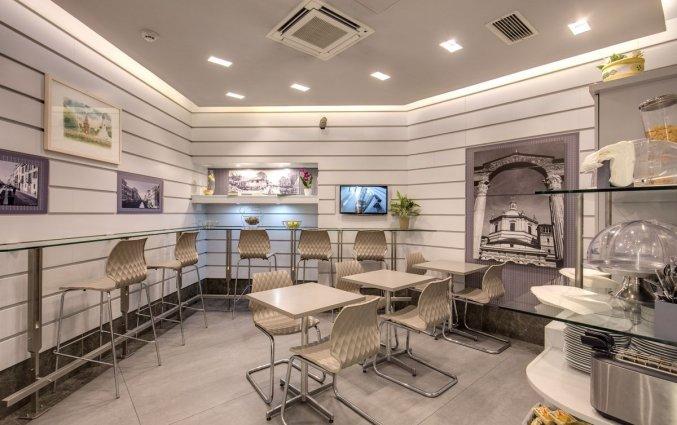 Ontbijtzaal van Hotel Rio in Milaan