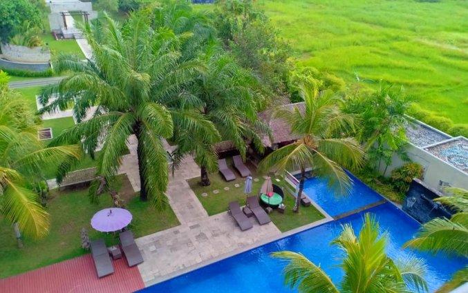 Zwembad van hotel Seminyak Garden Bali