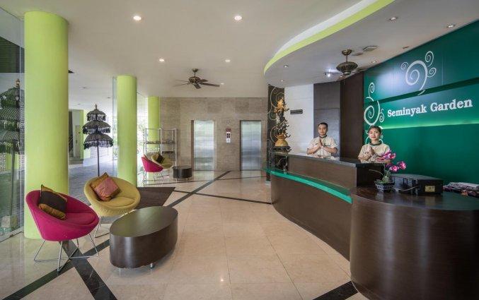 Lobby van hotel Seminyak Garden Bali