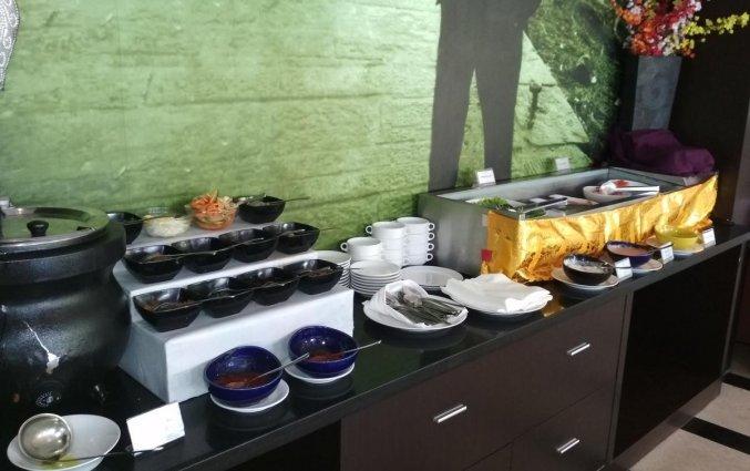Ontbijt van hotel Seminyak Garden Bali