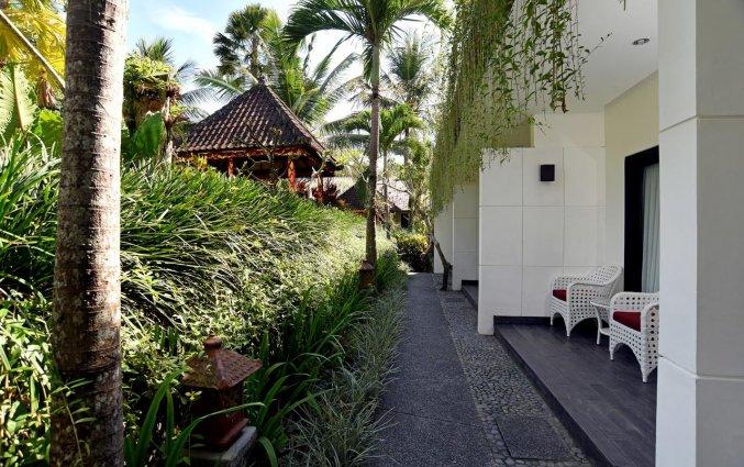 Tuin van Resort Y Ubud