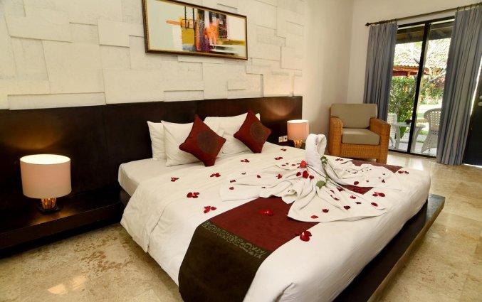 Tweepersoonskamer van Resort Y Ubud