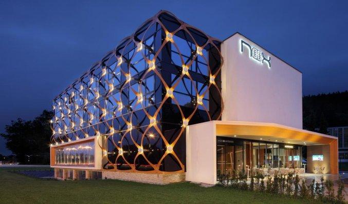Buitenkant van Hotel Nox Ljubljana