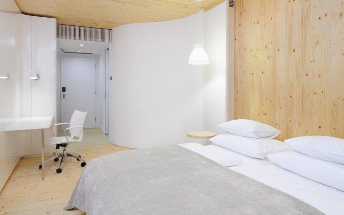 Tweepersoonskamer van Hotel Nox Ljubljana