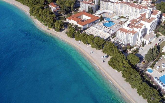 Bovenaanzicht van Hotel Bluesun Alga in Dalmatië