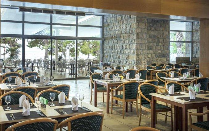 Restaurant van Hotel Bluesun Alga in Dalmatië