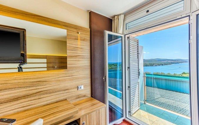 Tweepersoonskamer van Hotel Panorama in Dalmatie