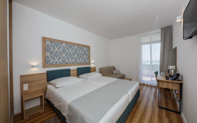 Tweepersoonskamer van Hotel Medena in Dalmatië