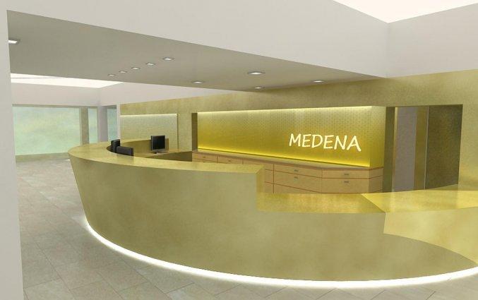 Receptie van Hotel Medena in Dalmatië