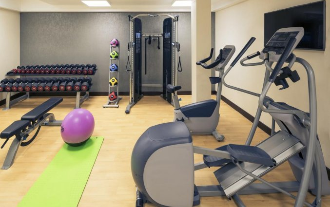 Fitnessruimte van Hotel Mercure Edinburgh Haymarket in Edinburgh