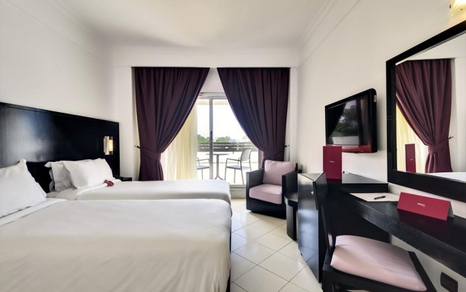 Tweepersoonskamer van Hotel Allegro in Agadir