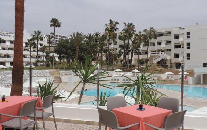 Terras van Hotel Allegro in Agadir