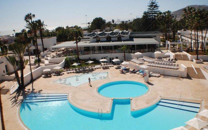 Buitenzwembad van Hotel Allegro in Agadir