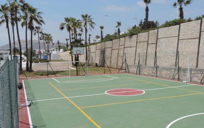 Voetbalveld van Hotel Allegro in Agadir