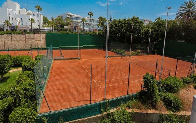 Tennisbaan van Hotel Allegro in Agadir