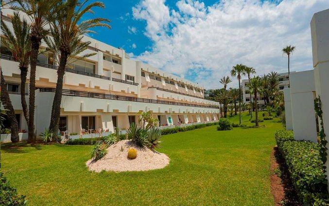 Tuin van Hotel Allegro in Agadir