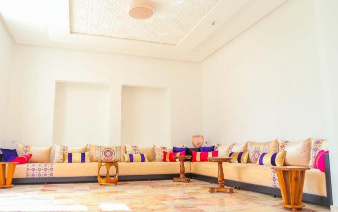 Zitgedeelte in Hotel Senator Agadir