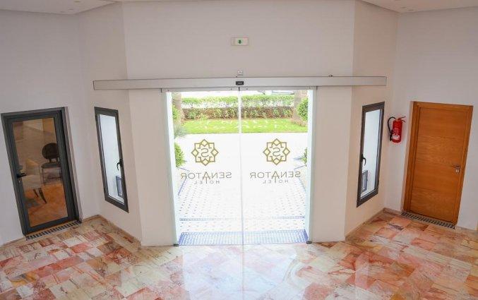 Entree van Hotel Senator Agadir