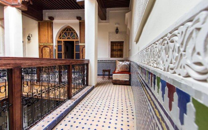 Gang van van Riad Taryana in Fez