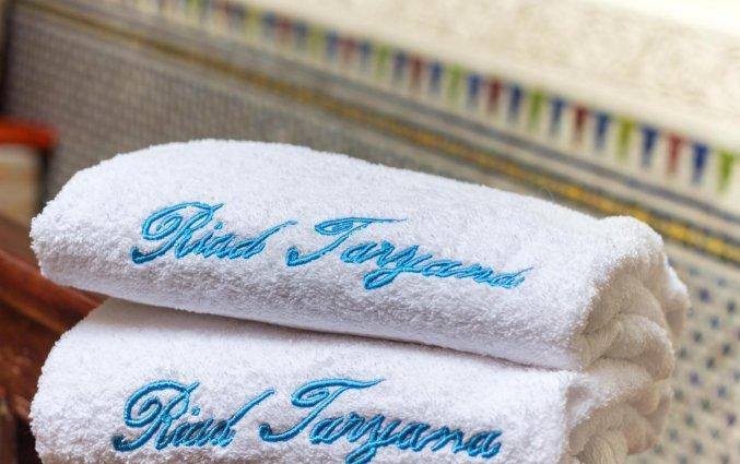 Handdoeken van Riad Taryana in Fez