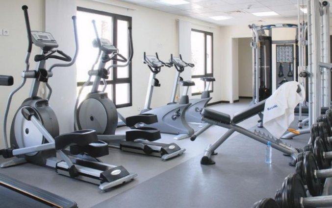Fitnessruimte van Hotel Barcelo Fes Medina in Fez