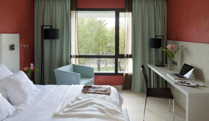 Tweepersoonskamer van Hotel Barcelo Fes Medina in Fez