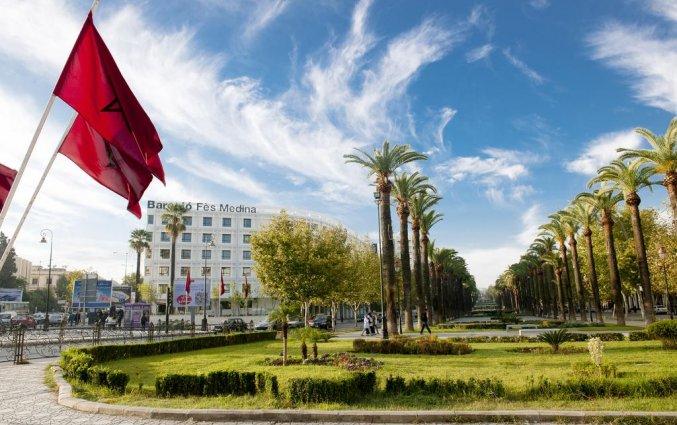 Buitenkant van Hotel Barcelo Fes Medina in Fez