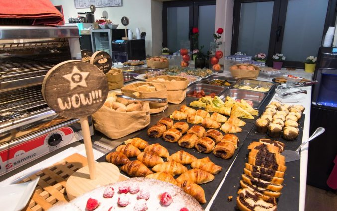 Ontbijt van Hotel Petit Palace Arana in Bilbao