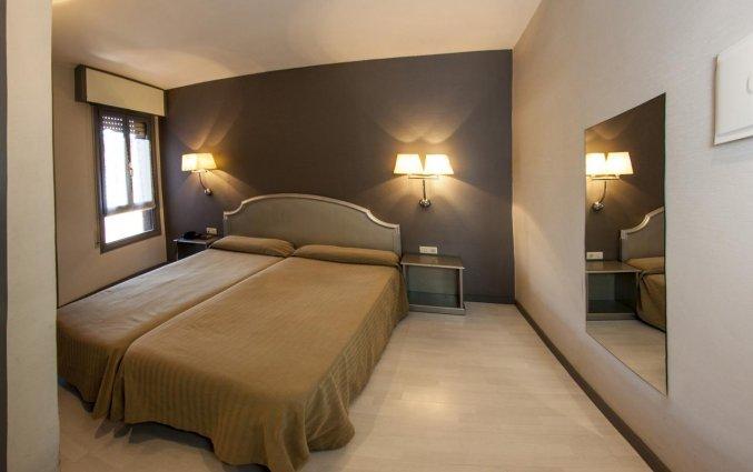 Tweeoersoonskamer van hotel Bilbi Bilbao