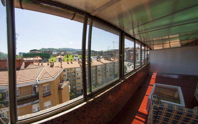 Uitzicht van hotel Bilbi Bilbao