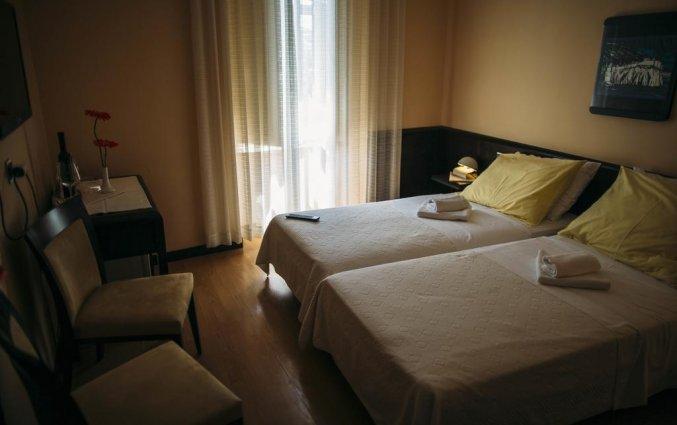 tweepersoonskamer van Hotel Villa Amfora
