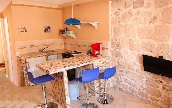 Keuken in appartement van Apartementen Mia in Dubrovnik