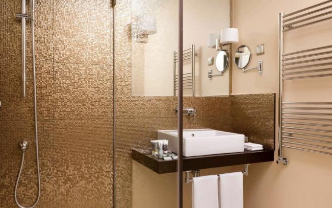 Badkamer in hotel Mercure Moscow Paveletskaya