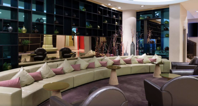 Lounge  in hotel Mercure Moscow Paveletskaya