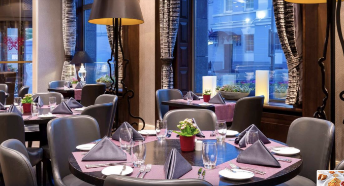 Restaurant in hotel Mercure Moscow Paveletskaya