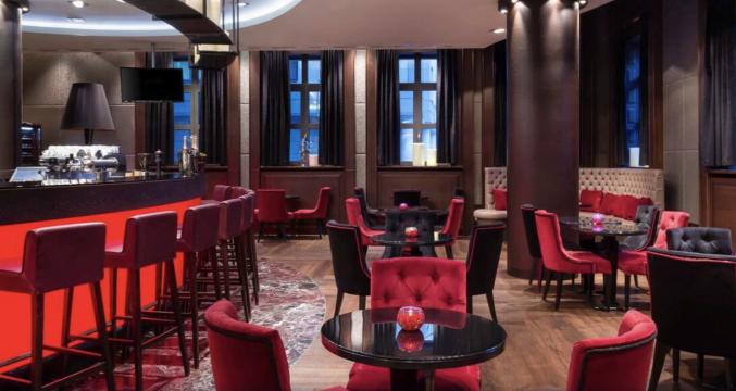 Bar in hotel Mercure Moscow Paveletskaya