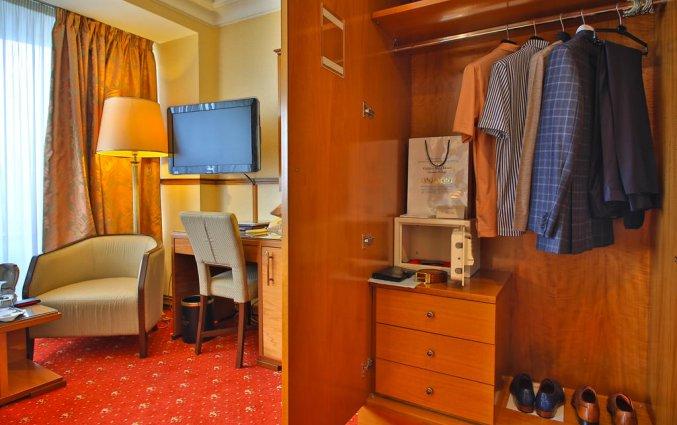Kamer van Hotel Golden Ring in Moskou