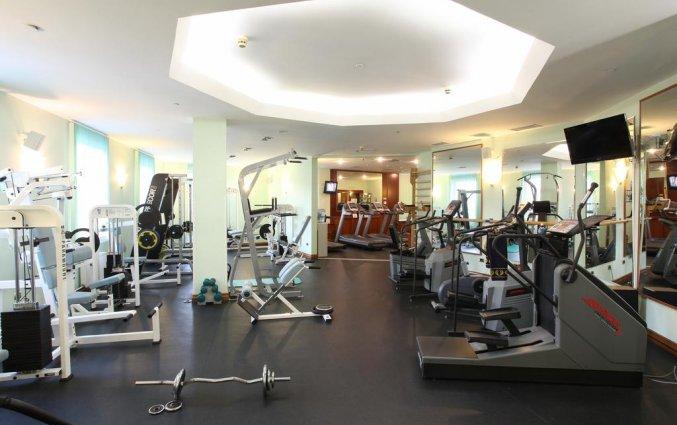 Fitnessruimte van Hotel Golden Ring in Moskou