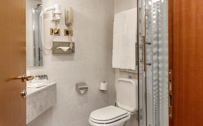 Badkamer van een kamer in Hotel Golden Ring in Moskou