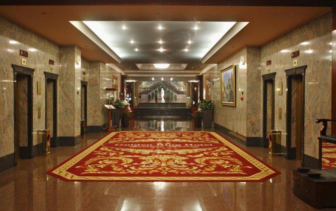 Hal van Hotel Golden Ring in Moskou
